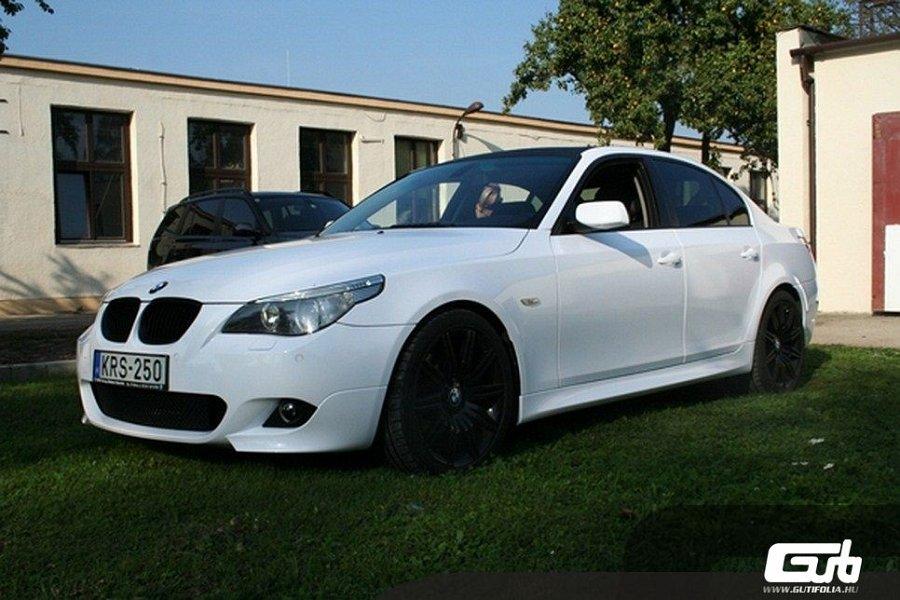 BMW 5 fehér