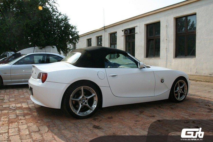 BMW Z4 fehér