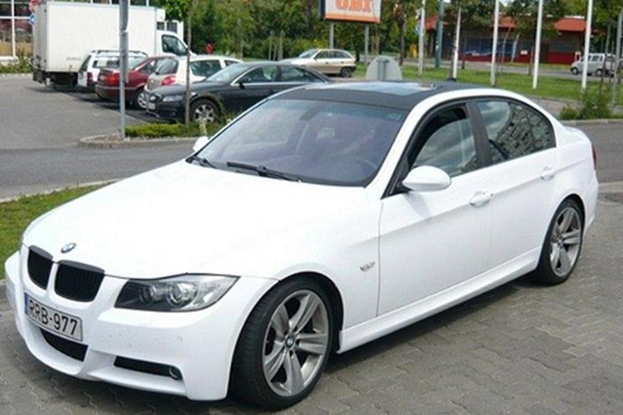 BMW 3 fehér
