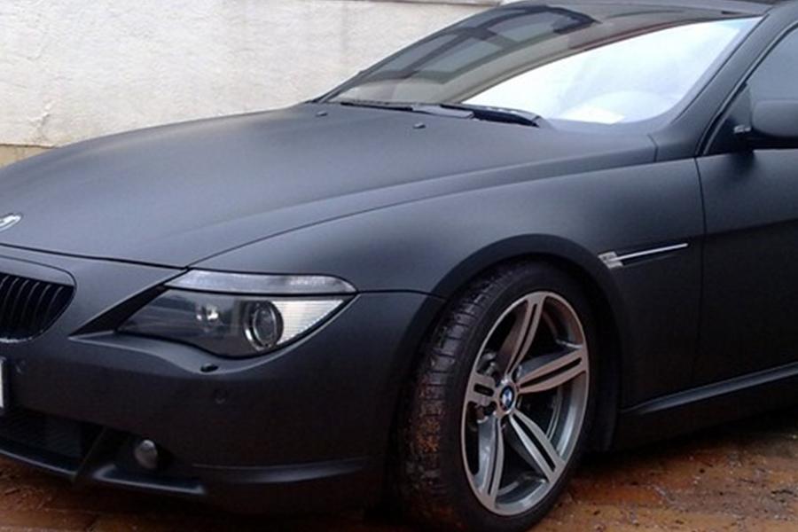 BMW 6 matt fekete