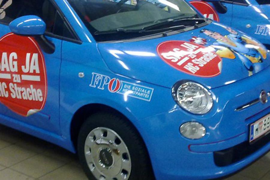 Fiat 500 reklám