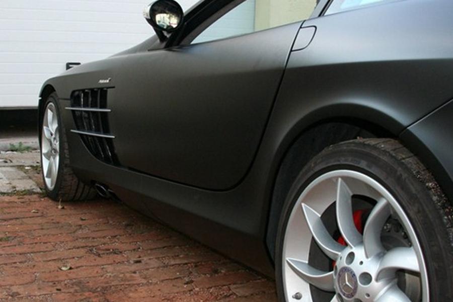 Mclaren Mercedes matt fekete