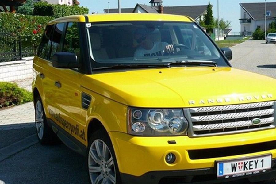 Range Rover sárga